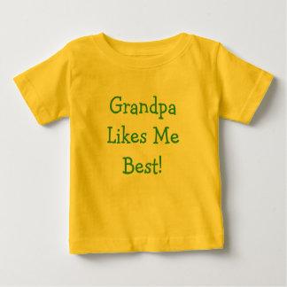 ¡El abuelo tiene gusto de mí mejor! Camisetas