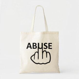 El abuso del bolso es tremendo bolsa lienzo