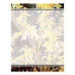 El acacia floreciente ramifica Vincent van Gogh. Plantilla De Membrete