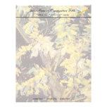 El acacia floreciente ramifica Vincent van Gogh. Membrete A Diseño