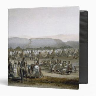 El acampamento de los indios de Piekann platea 43