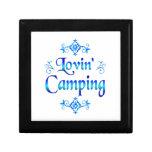 El acampar de Lovin Cajas De Joyas