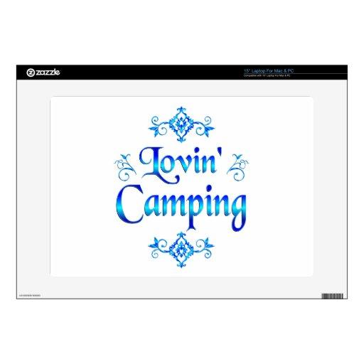 El acampar de Lovin Portátil Calcomanías