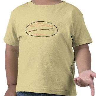 El acampar del asador de la melcocha del aprendiz camisetas