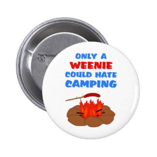 El acampar del odio de los Weenies Pins