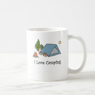 El acampar divertido del amor de I Tazas