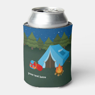 El acampar enfriador de latas