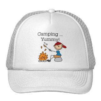 El acampar es delicioso gorro de camionero