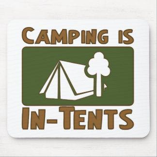 El acampar es intentos mouse pads