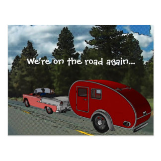 El acampar es mi vida postal