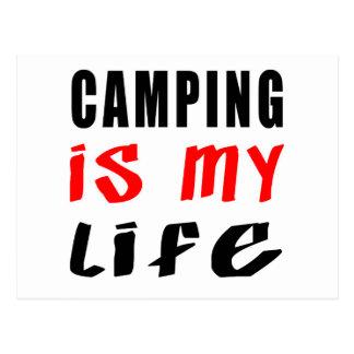El acampar es mi vida postales