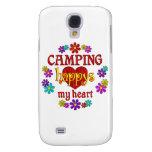 El acampar feliz