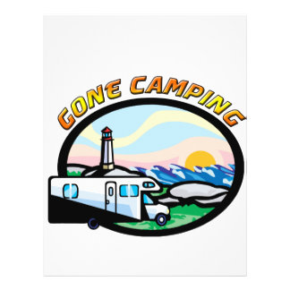 """El acampar ido folleto 8.5"""" x 11"""""""