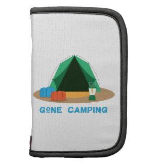 El acampar ido organizador