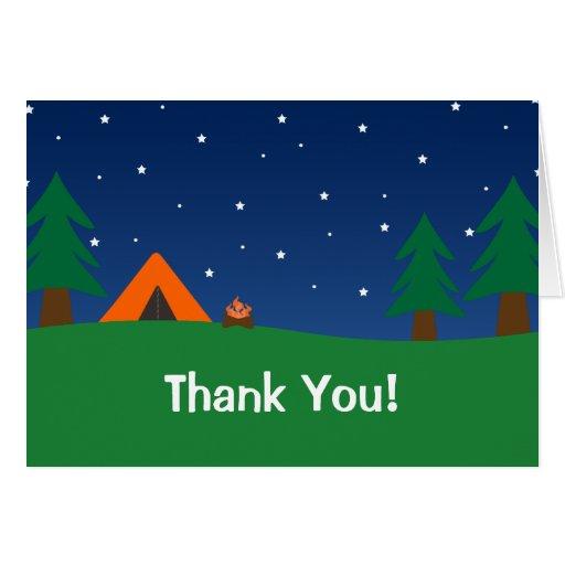 El acampar le agradece felicitaciones