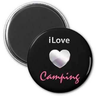 El acampar lindo imanes para frigoríficos