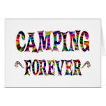 El acampar para siempre felicitacion