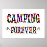 El acampar para siempre posters