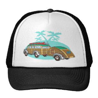 El acampar que va en mi Woody Gorras