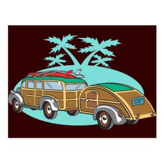 El acampar que va en mi Woody Postales