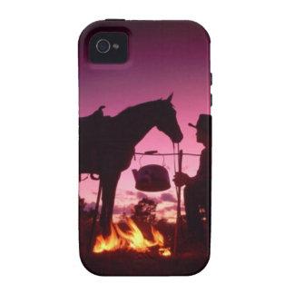 El acampar salvaje del oeste iPhone 4/4S carcasa