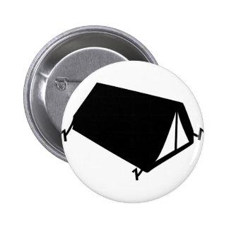 el acampar tiende el icono pin