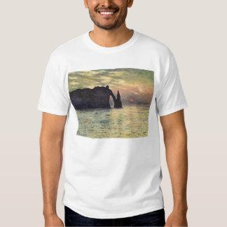 El acantilado, Etretat, puesta del sol de Claude Camisas