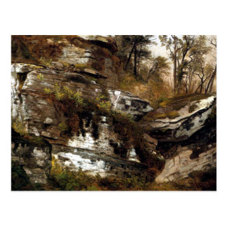 El acantilado rocoso de Catskills - Durand Tarjeta Postal