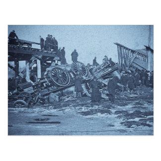 El accidente espantoso en el río 2 ciánicos de tarjetas postales