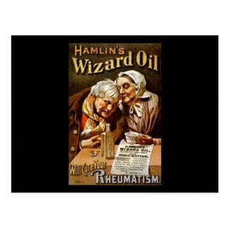El aceite del mago de Hamlin curará su reumatismo Tarjeta Postal