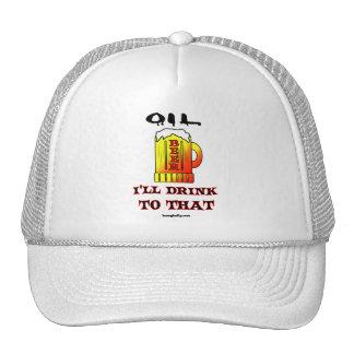El aceite I beberá a ese, casquillo del remiendo d Gorro De Camionero