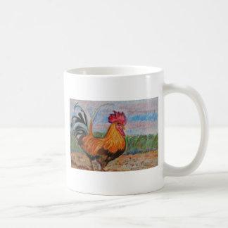 El aceo de la acuarela del arte del animal del taza clásica