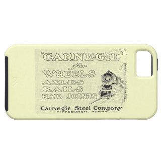 El acero de Carnegie para la locomotora rueda el iPhone 5 Fundas