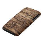 El acero industrial oxidado sucio viejo telegrafía iPhone 3 Case-Mate cobertura
