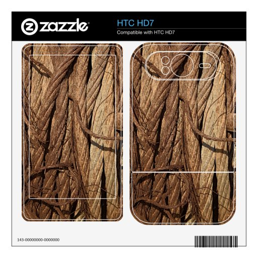 El acero industrial oxidado sucio viejo telegrafía HTC HD7 skin