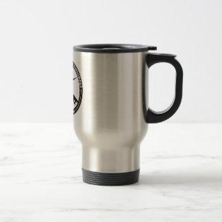 El acero inoxidable de MCPA cubrió la taza de café