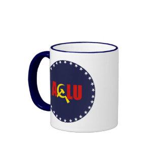 El ACLU es comunista Taza De Café