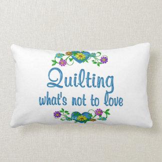 El acolchar al amor almohadas