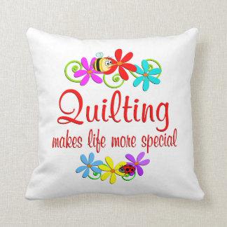El acolchar es especial almohadas