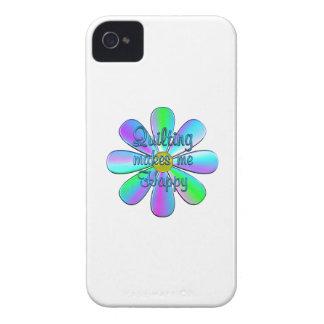 El acolchar feliz carcasa para iPhone 4 de Case-Mate