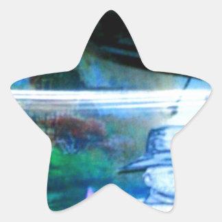 El acontecimiento 1948 pegatina en forma de estrella