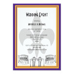 El acontecimiento del boda de New Orleans invita Anuncio