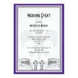 El acontecimiento del boda de New Orleans invita Invitacion Personalizada