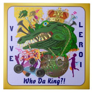 El acontecimiento del carnaval del carnaval ve por azulejo cuadrado grande