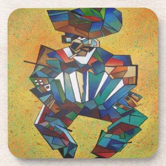 El acordeonista posavaso