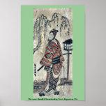 El actor Bandō Hikosaburō por Torii, Kiyomitsu Uki Posters
