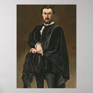 El actor del trágico Rouviere como Hamlet Posters