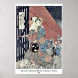 El actor Nakamura Matsue en el papel del keisei MI Posters
