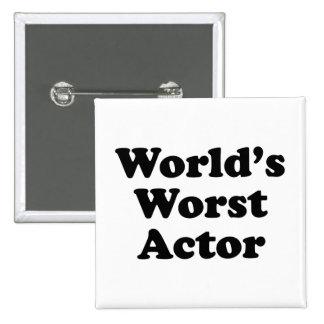 El actor peor del mundo pins