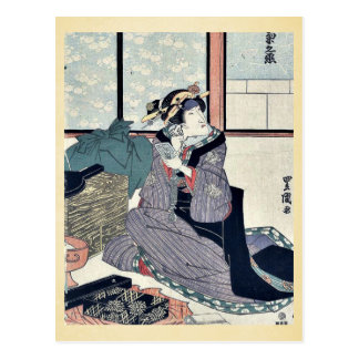 El actor Segawa Kikunojo V por Utagawa, Toyokuni Postales